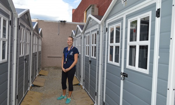 New sheds off Leon Avenue offer shopping cart storage