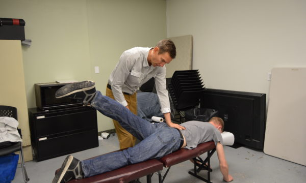 Chiropractors Support Gospel Mission