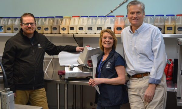 Morningside Rotary Club donates state of the art slicer to Kelowna Gospel Mission