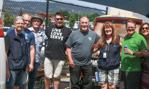 Kelowna Gospel Mission thanks community support workers with 8th annual Well Done BBQ