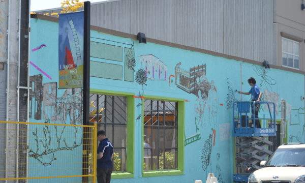 Downtown mural on the walls of Kelowna's Gospel Mission to be unveiled