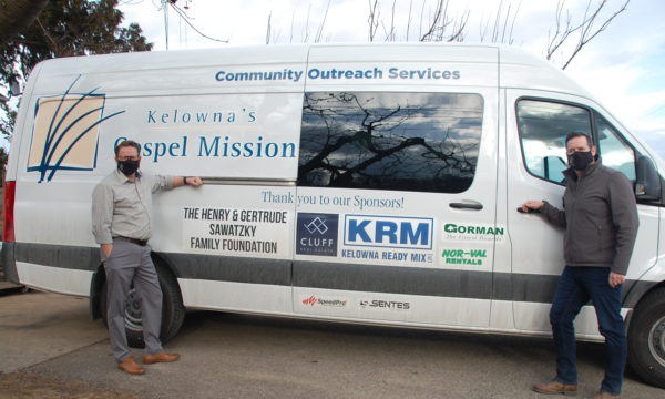New outreach van to enhance services for Kelowna's homeless population